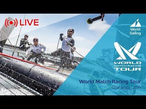 LIVE Sailing   World Match Racing Tour - Semi Finals & Final   Chicago, USA   Sunday 1 October 2017