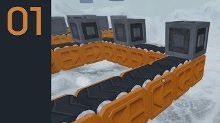 Basics - Infinifactory Walkthrough/Gameplay Part 1