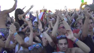 EMF 2014 - Sultan & Ned shepard vs coldplay - A sky full of stars (ambiance magnifique)