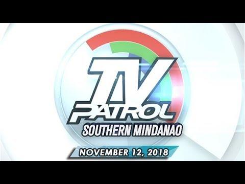 TV Patrol Southern Mindanao - November 12, 2018