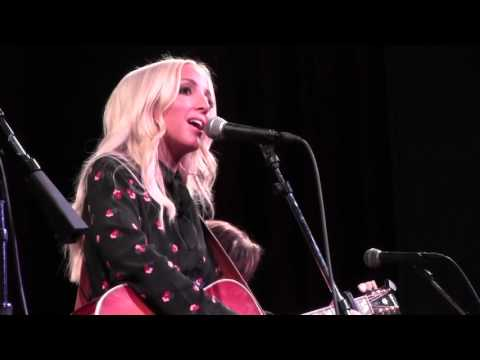 The Country Note Watches Ashley Monroe Perform At CMT's Next Women Of Country