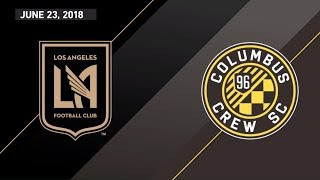 HIGHLIGHTS: Los Angeles Football Club vs. Columbus Crew SC | June 23, 2018