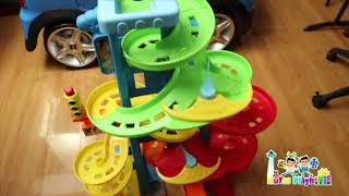 Race Track and Racing Cars with Kuyas Playhouse