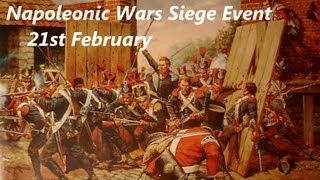 Mount & Blade: Napoleonic Wars Siege Battle - Thursday 21st February - 77y Regiment