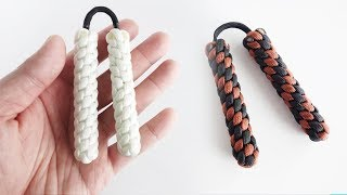 How to Make Paracord Mini Nunchucks | Skill Toy / Fidget Toy Tutorial