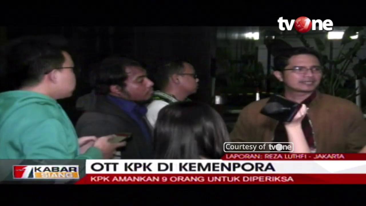Ott Kpk Photo: OTT Di Kemenpora, KPK Amankan 9 Orang Untuk Diperiksa