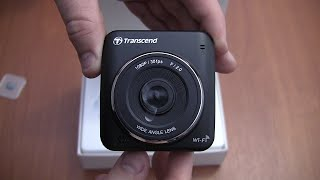 Transcend DrivePro 200 Car Dash Camera - Unboxing / Review