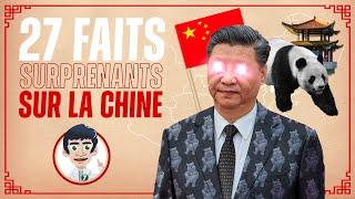 27 FAITS SURPRENANTS SUR LA CHINE !!