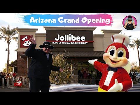 Chandler, Arizona || JOLLIBEE GRAND OPENING | 1st in ARIZONA