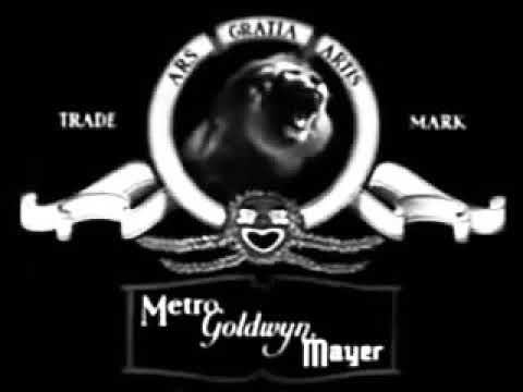 MGM Coffee The Lion In Black And White