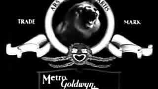 MGM Coffee The Lion In Black  White