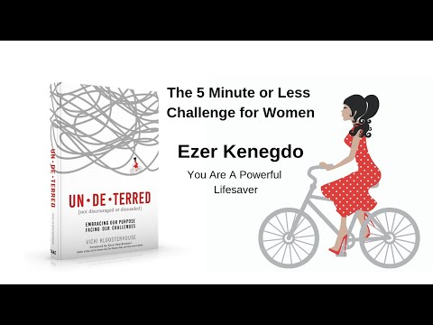 Ezer Kenegdo: You Are A Powerful Lifesaver