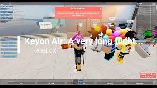 Welcome Aboard Keyon Air | ROBLOX FLIGHT SIM VIDEO