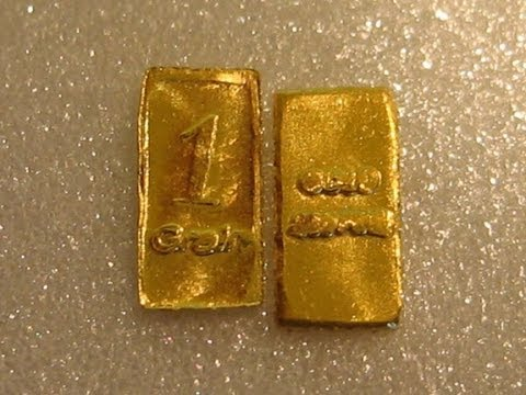 Cheap, affordable Gold Bullion Bars! MUST WATCH!
