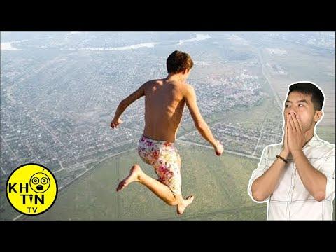 7 cú nhảy điên rồ và nguy hiểm nhất thế giới khiến bạn thót tim