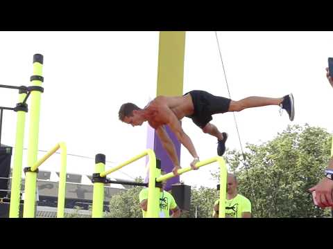 Street Workout World Championship 2017 / Antoine Lacotte SBL , round 2