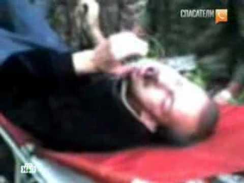 Посетитель кладбища насадил голову на кол