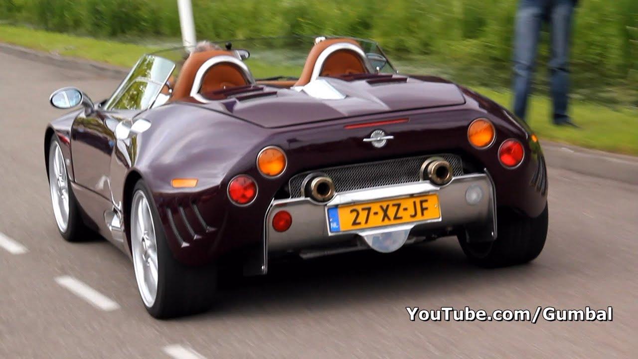 Spyker C8 Spyder - Accelerating sound!! - 1080p HD - YouTube
