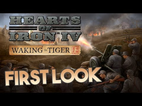 HOI4: Waking the Tiger - First Look Stream