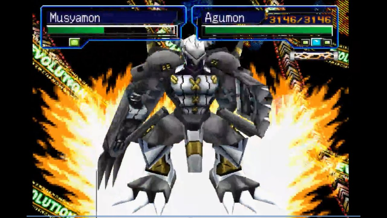 Digimon World 3 Best spot to get Mega, & MP Chips by