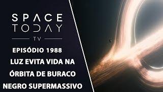 LUZ EVITA VIDA NA ÓRBITA DE BURACO NEGRO SUPERMASSIVO | SPACE TODAY TV EP1988