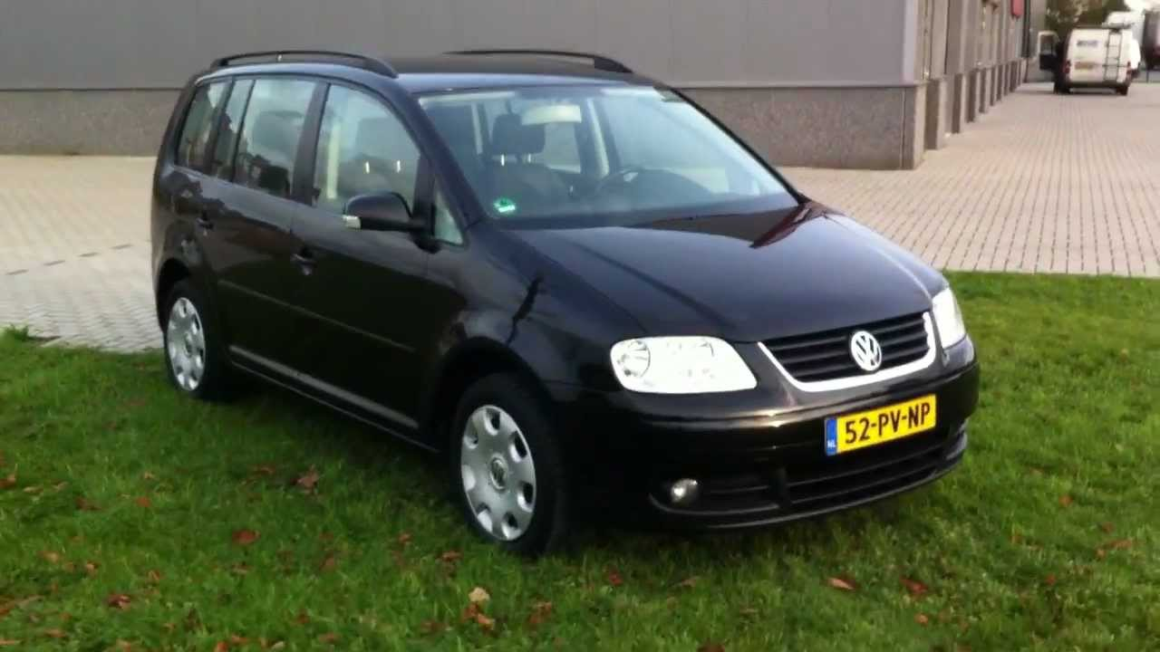 vw touran 2 0 tdi youtube. Black Bedroom Furniture Sets. Home Design Ideas