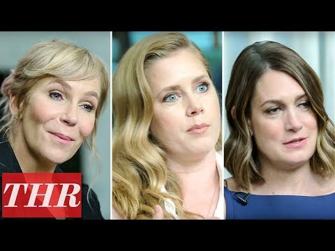Amy Adams, Gillian Flynn, & Creator Marti Noxon on HBOs Sharp Objects | THR