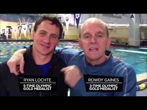 Ryan Lochte & Rowdy Gaines on the 2013 International Convention