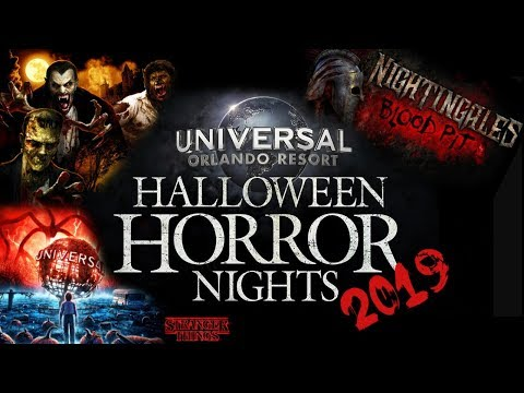 Halloween Horror Nights 2019 | What We Know So Far | Houses, Dates, Ticket Prices And More!