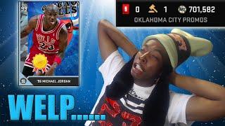 This Was Fun While It Lasted.... NBA 2K16 MyTEAM Diamond Jordan Worth It? thumbnail