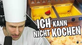 REWI kann nicht Kochen und ZÜNDET DIE GANZE KÜCHE AN! Cooking Simulator