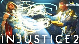 I Can't Believe That Just Happened... Black Lighting Online - Injustice 2
