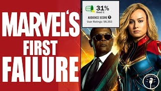 How Captain Marvel Ruined Marvel's Perfect Record