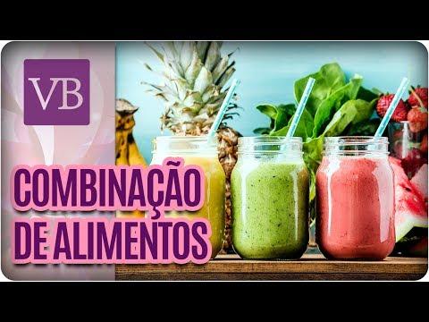 Benefícios das Combinações de Alimentos para Emagrecer e Desinchar - Você Bonita (14/07/17)