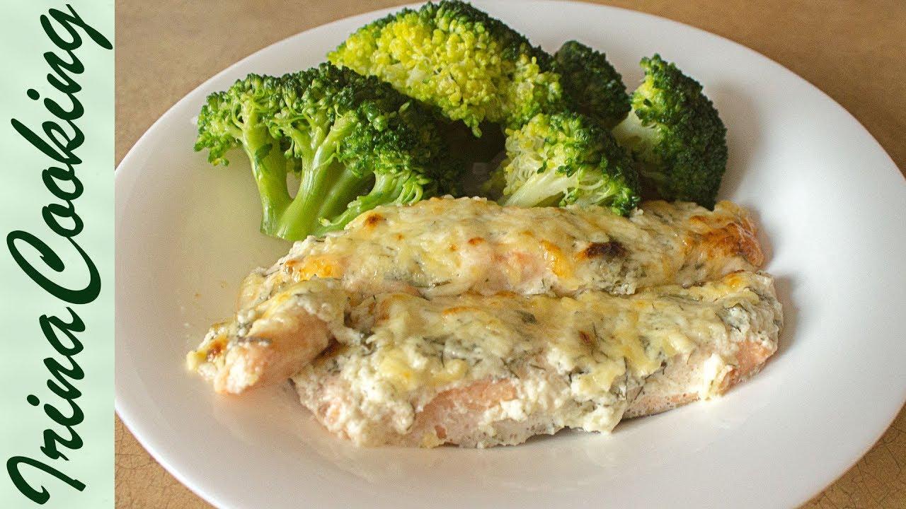 лосось в духовке рецепты с фото
