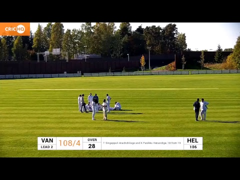 Helsinki Cricket Club v Vantaa Cricket Club (SM40 1st div)