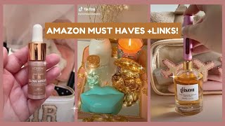 BEAUTY MUST HAVES FROM AMAZON(+LINKS) | Tiktok made me buy it