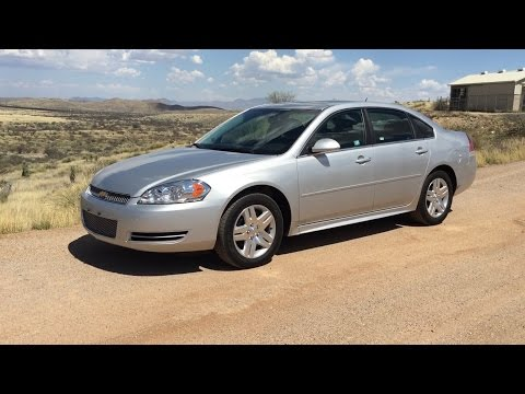 2014 Chevrolet Impala Limited, Full Size Rental Car Review