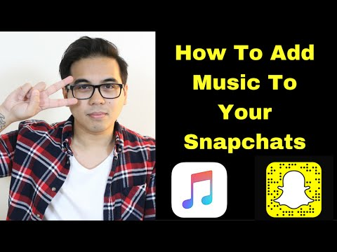How To Add Music To Your Snapchats 🎼