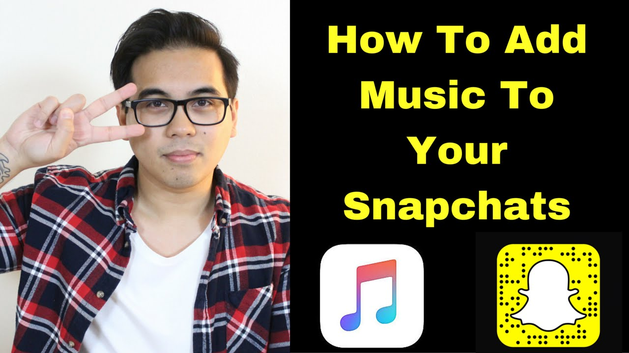 How To Add Music To Your Snapchats  - Youtube-3078