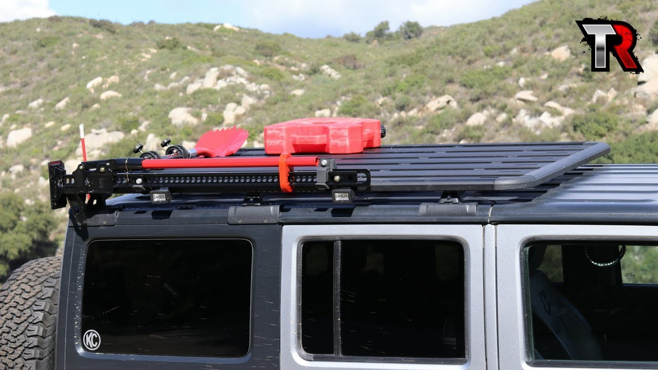 Jeep Roof Rack Installation and Review - Rhino Rack ...