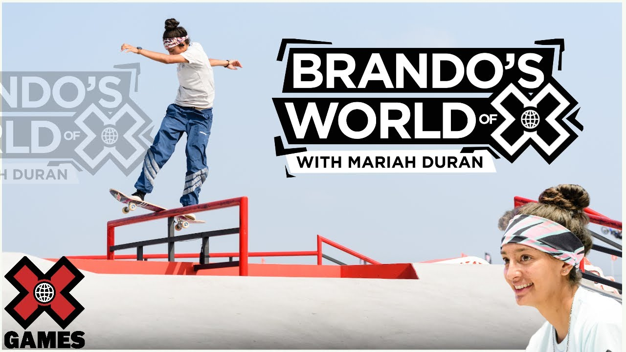 MARIAH DURAN: Everything I Did Was For Skateboarding | World of X Games