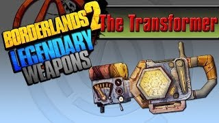Borderlands 2 Легендарные щиты - #1 The Transformer(Трансформер)
