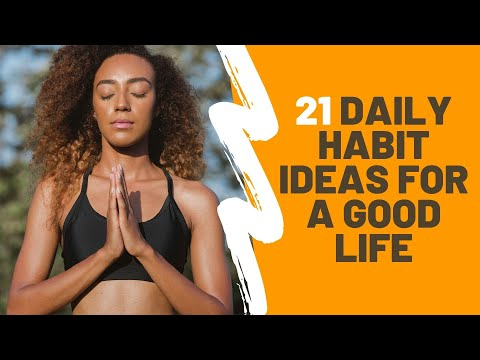 How To Improve Your Life | 21 Daily Habit Ideas For A GOOD LIFE 🌻