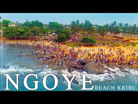 NGOYE beach Kribi - Plage de NGOYE à Kribi