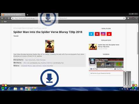 Download Spiderman Into The Spider Verse Full Movie HD Bluray With Subtitles