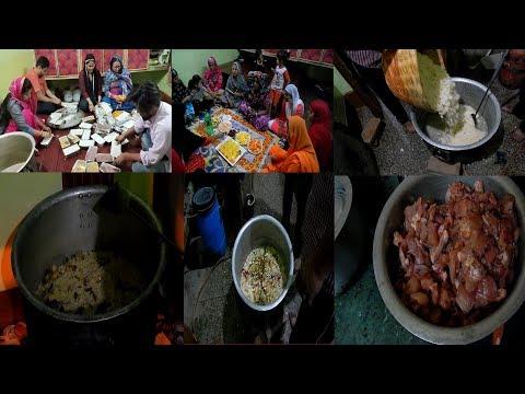 Ramadan Special Vlog !!! Roza Iftar !!! Chicken Biryani And Zarda Rice !!! Jumma Vlog