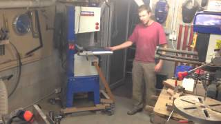 Shopmade  - Mobile Bandsaw Base