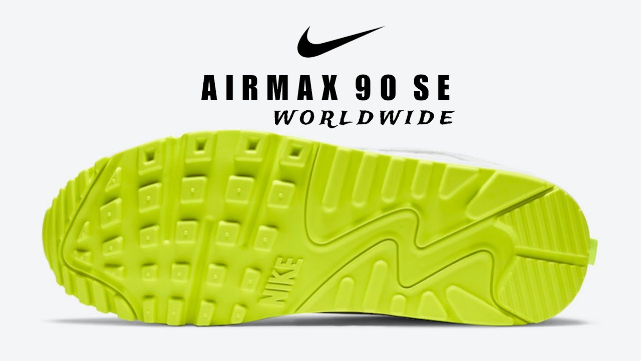 NIKE Air Max 90 SE Worldwide 2020 DETAILED LOOK RELEASE DATE #Airmax