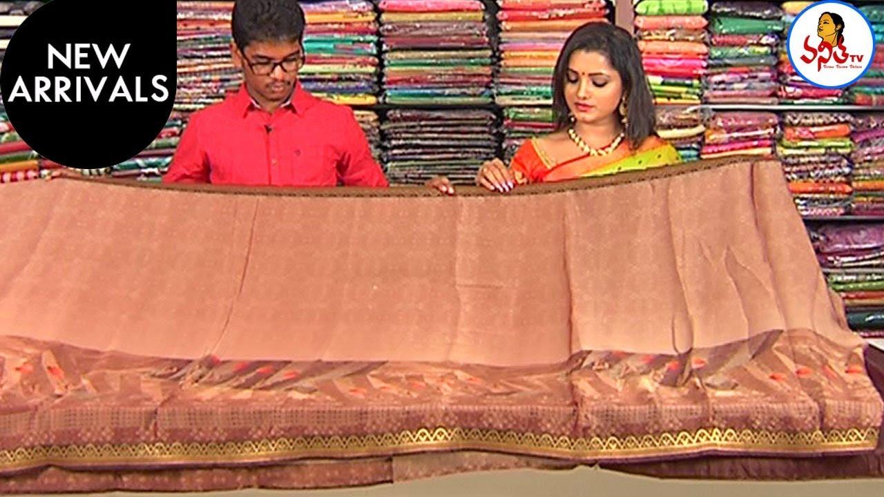 Pure Crepe & Raw Silks Sarees At Lowest Price | New Arrivals | Hello Ladies | Vanitha TV